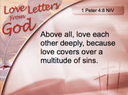 1peter4-8love letter from God