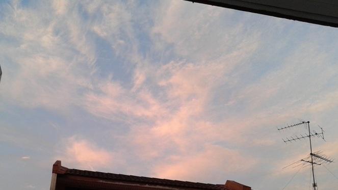 20150104 a glorious morning sky