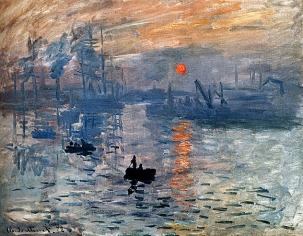 Monet_Impression_Sunrise