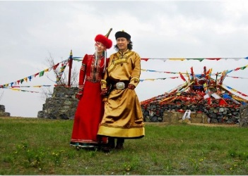 a Mongolian wedding